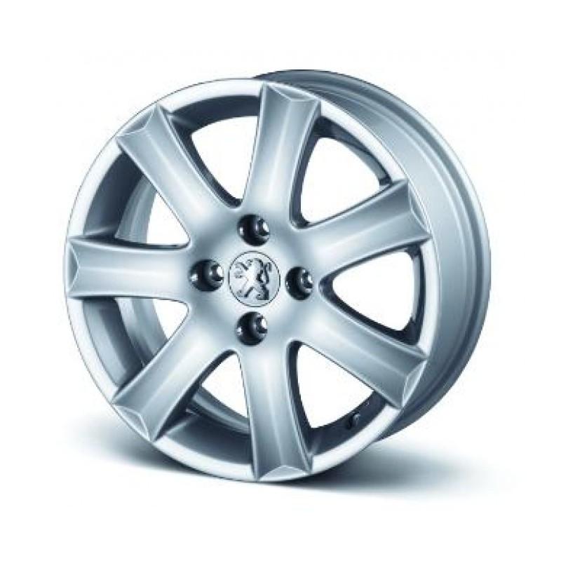 "Set of 4 alloy wheels Peugeot SPA 16"" - 207, 301"