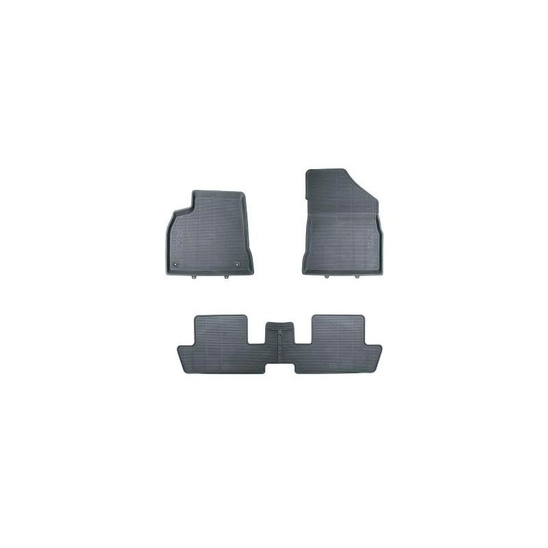 Set of rubber floor mats Peugeot 3008