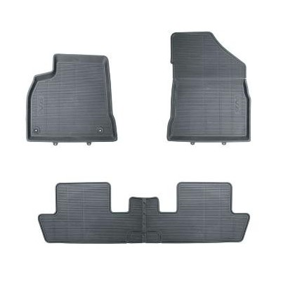 Set of rubber floor mats Peugeot 5008