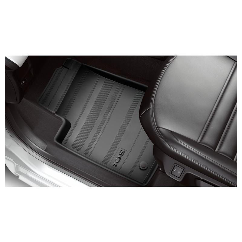Set of rubber floor mats Peugeot 108
