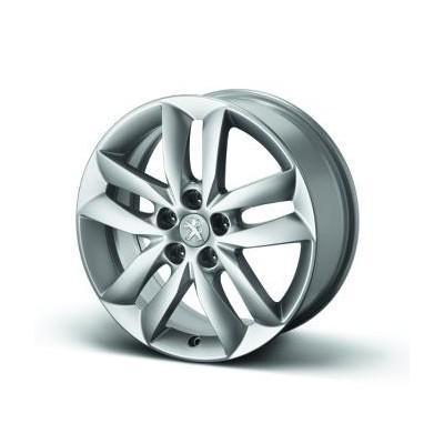 "Set of 4 alloy wheels Peugeot STYLE 04 17"" - 508"