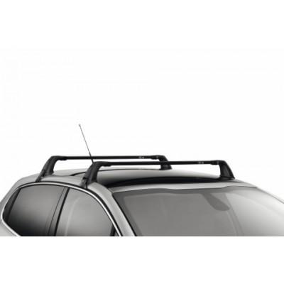 Juego de 2 barras de techo transversales Peugeot 208 5 Puertas