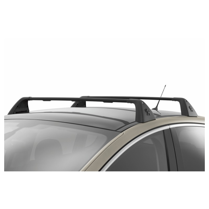 Juego de 2 barras de techo transversales Peugeot 3008