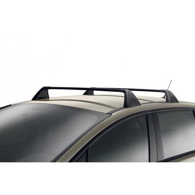 Serie di 2 barre del tetto trasversali Peugeot 5008 senza barre
