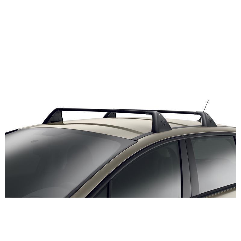 Juego de 2 barras de techo transversales Peugeot 5008 sin barras