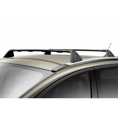 Serie di 2 barre del tetto trasversali Peugeot 5008 con barre
