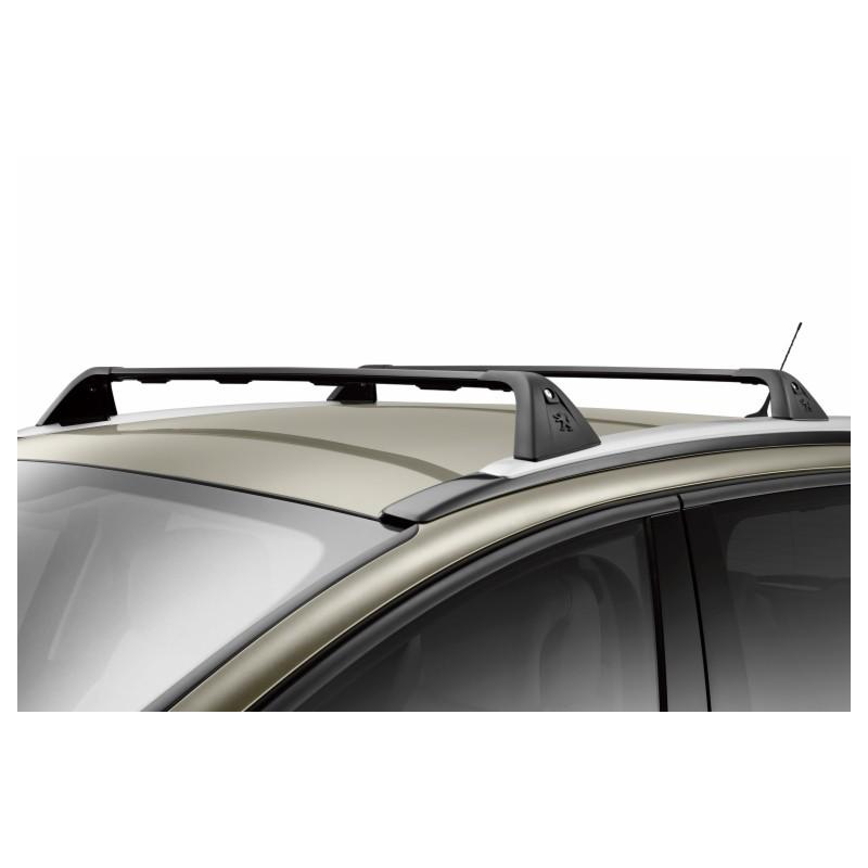 Juego de 2 barras de techo transversales Peugeot 5008 con barras