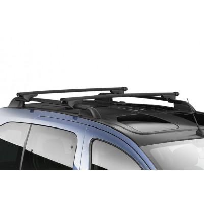 Střešní nosiče Peugeot Partner Tepee s tyčemi, prosklená střecha