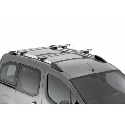 Juego de 2 barras de techo transversales Peugeot Partner (Tepee) B9, Citroën Berlingo (Multispace) B9