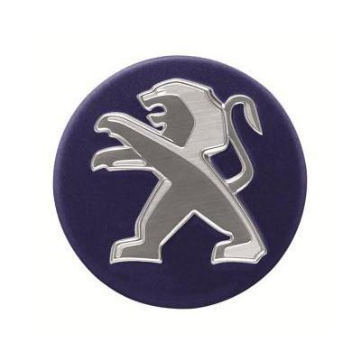 Středové krytky Peugeot - modré