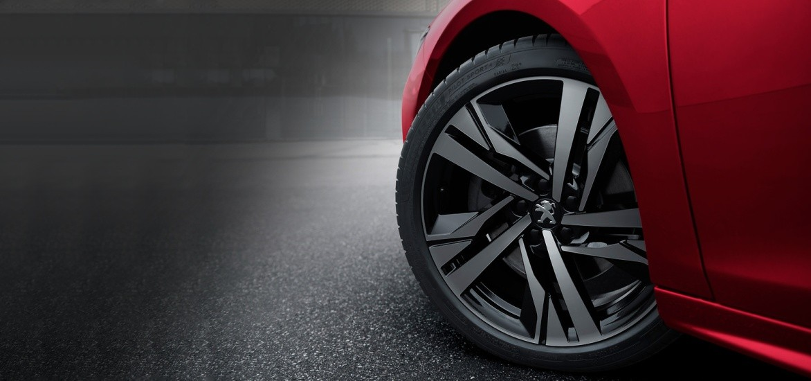 Discount up to 40% on selected Peugeot alloy wheels